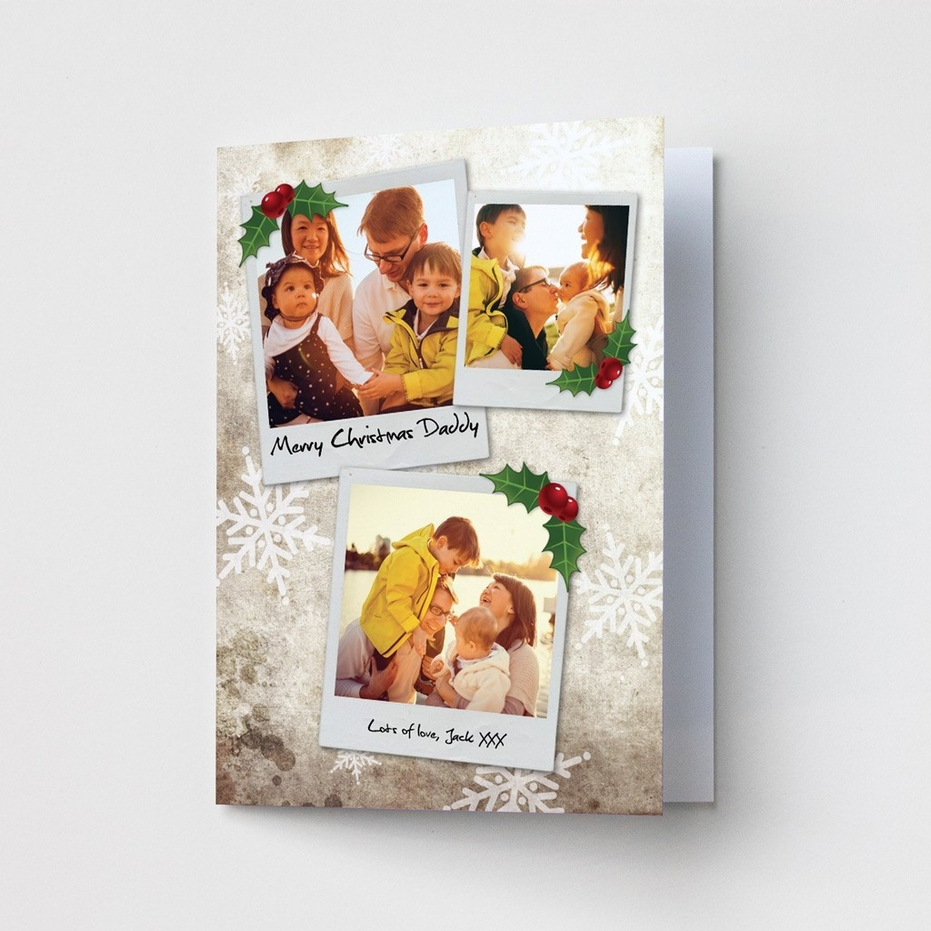 Premium Photo Christmas Cards - Polaroids