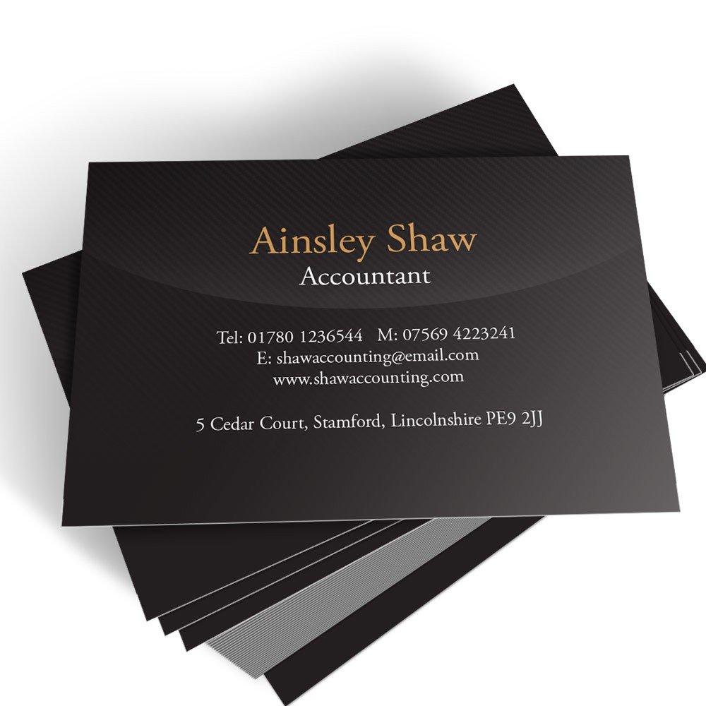 Accountant templated business card 2 able labels templated business card accountant 2 reheart Choice Image