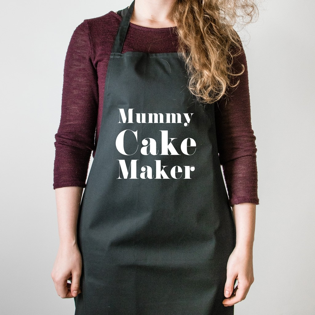 Personalised Adult Apron - Serif