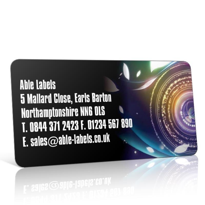 Pre Designed Camera Lens Address Label on A4 Sheets