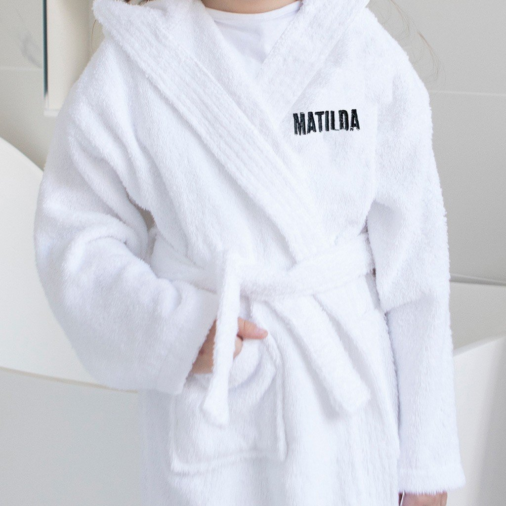 Personalised Super Soft Bath Robe