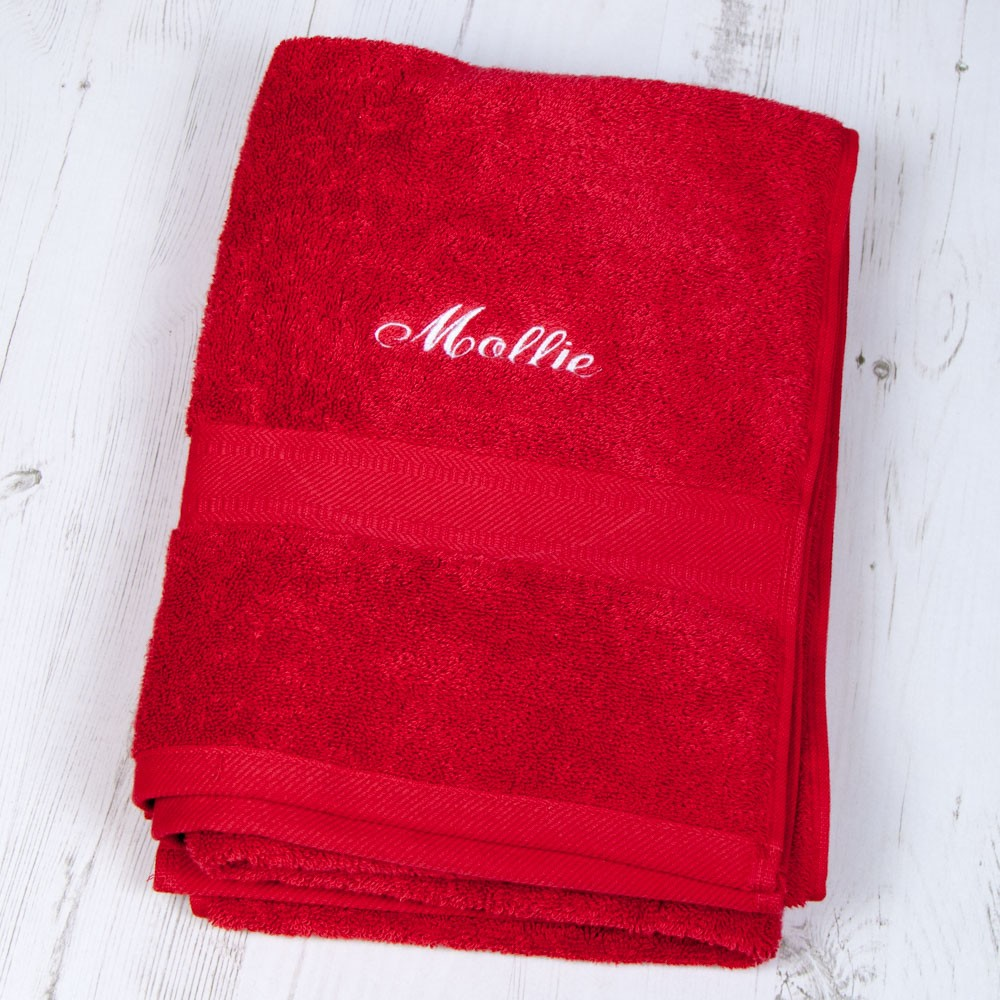 Personalised Swimming Towels