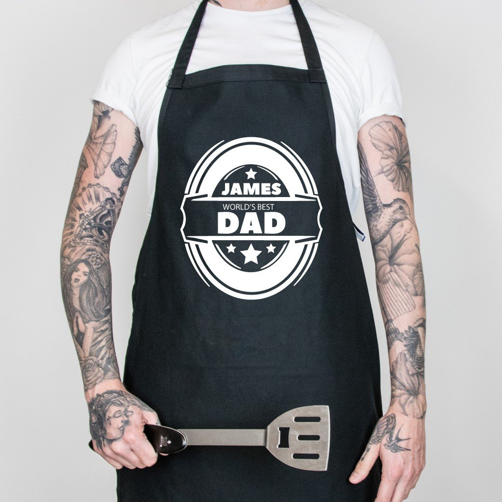 World's Best Dad Father's Day Apron