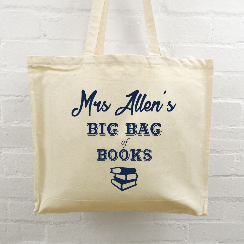 Teacher Tote Bag - Big Bag of Books