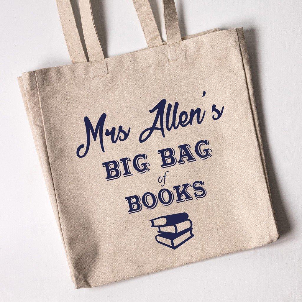 Teacher Tote Bag - Big Bag of Books