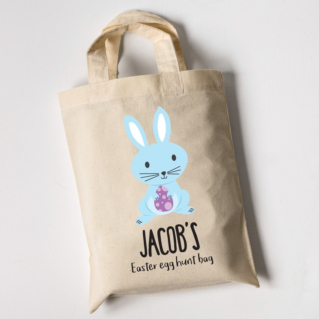 Easter Egg Hunt Mini Tote Bag - Bunny
