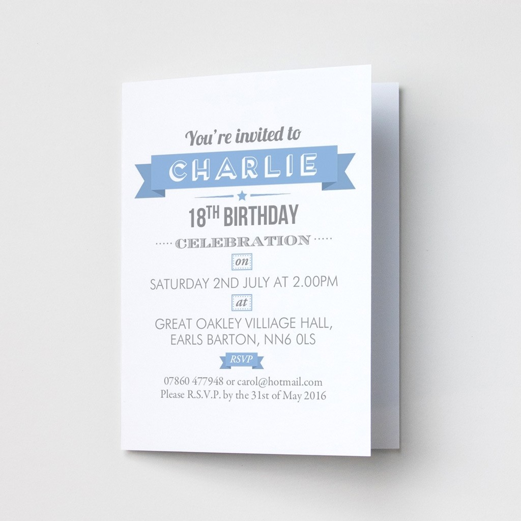 Celebration - Party Invitations