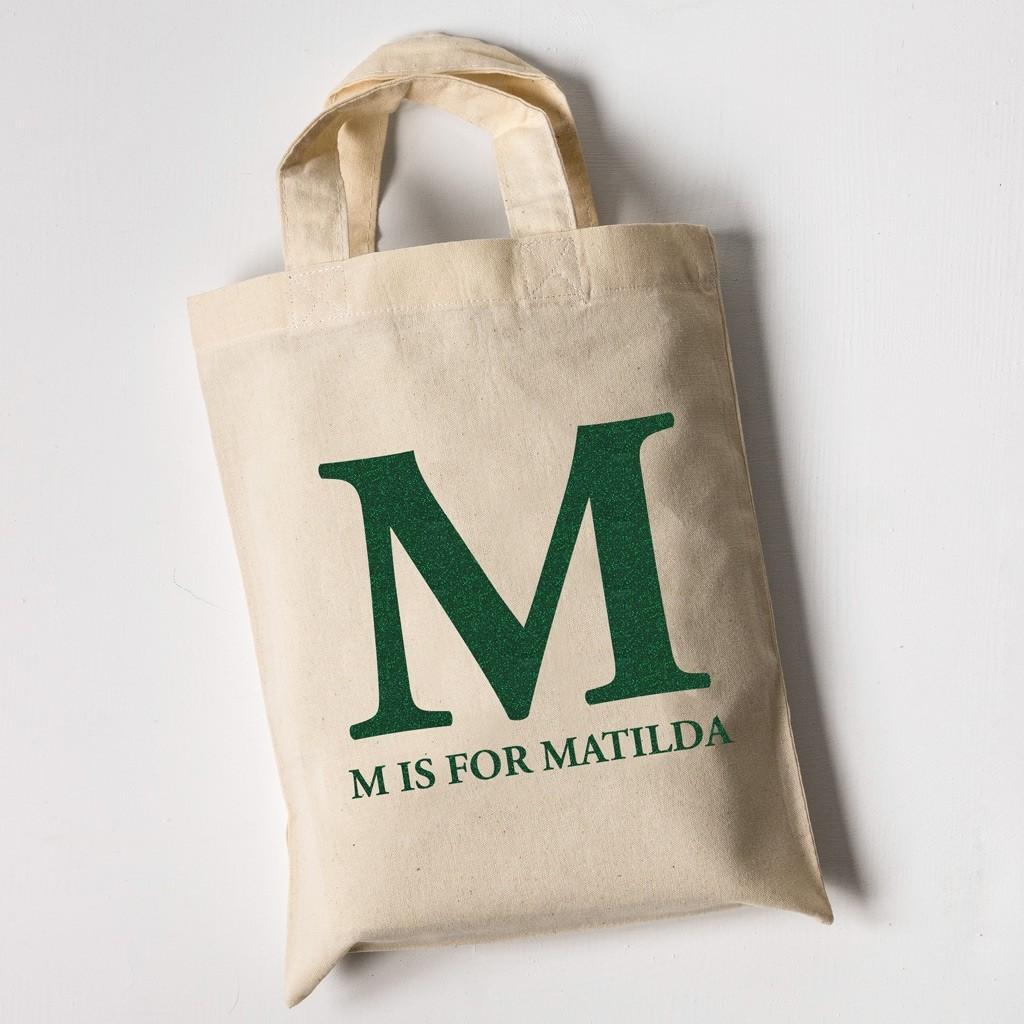 Monogram - Children's Tote Bag