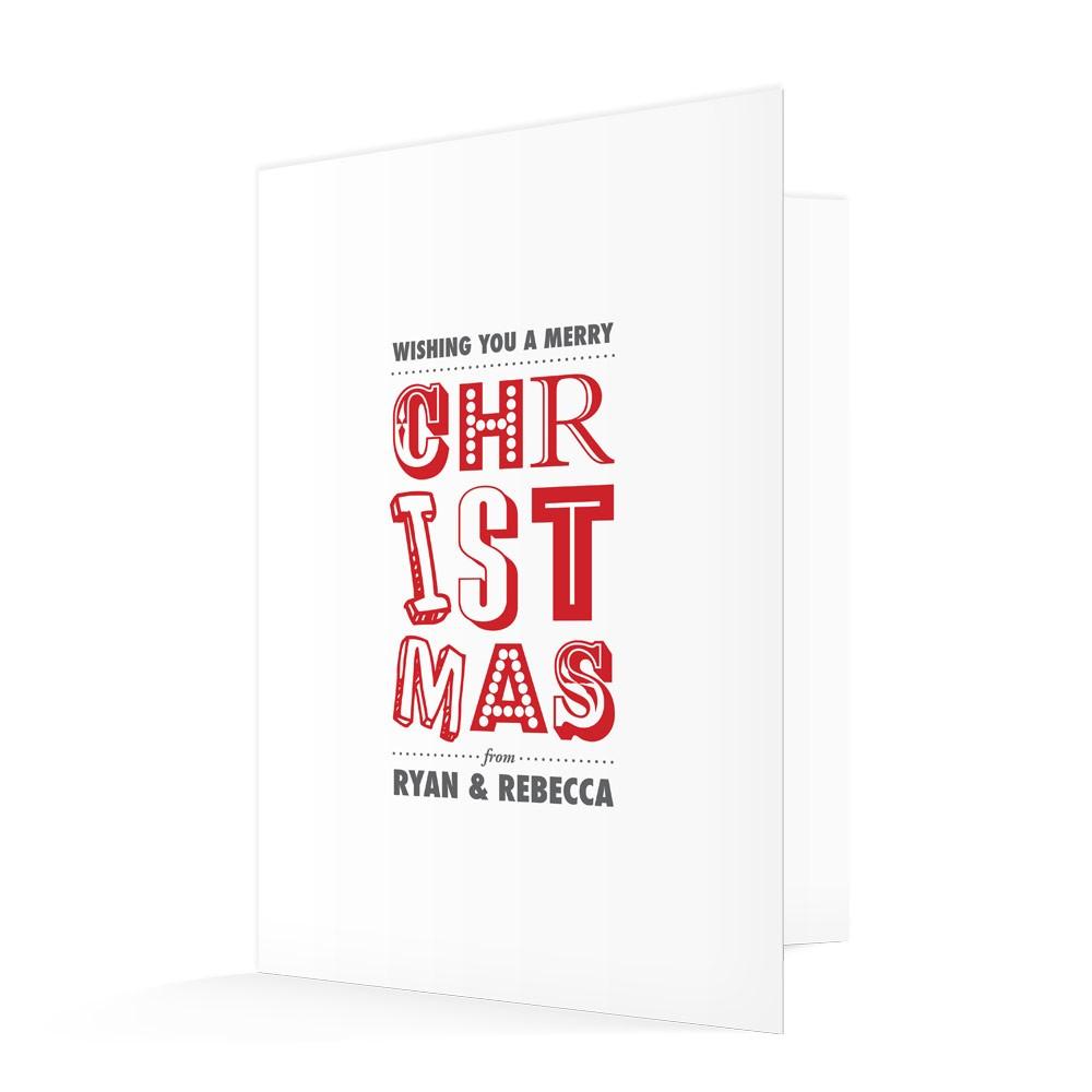 Premium Christmas Cards - Christmas Type