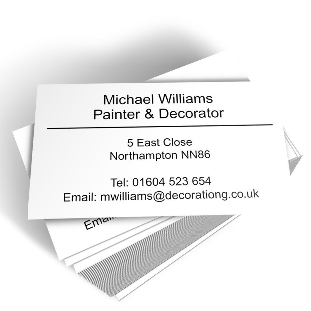 Classic Style A Business Card