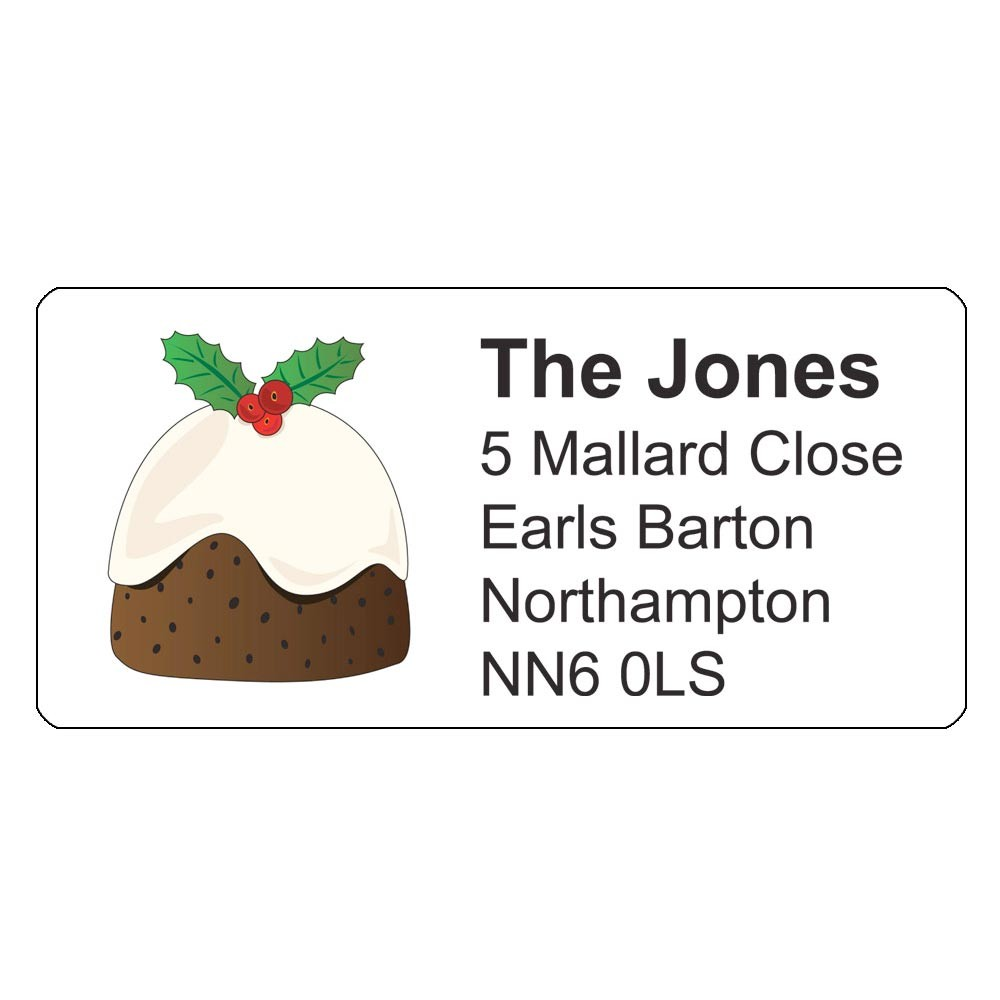 Christmas A4 Sheet Labels - Classic