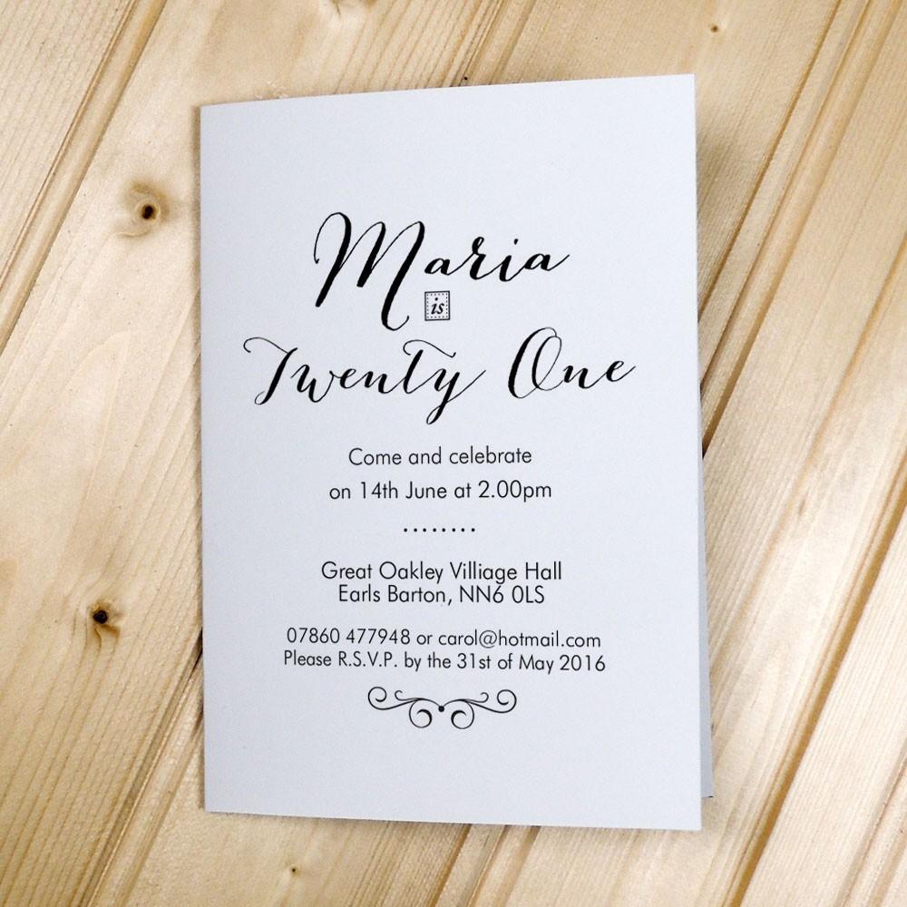 Come & Celebrate - Party Invitations