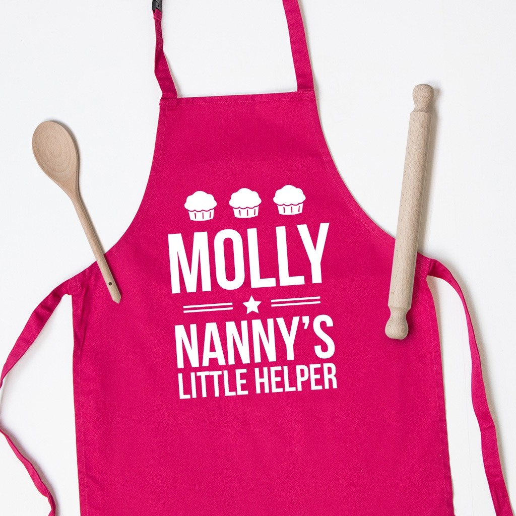 Personalised Kids Apron - Cup Cakes