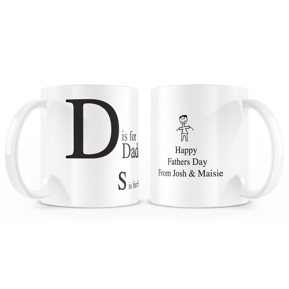 D is for Daddy Mug