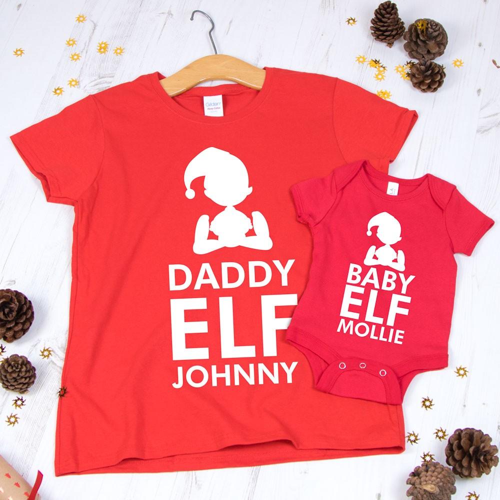 Christmas Family Elf T-shirt