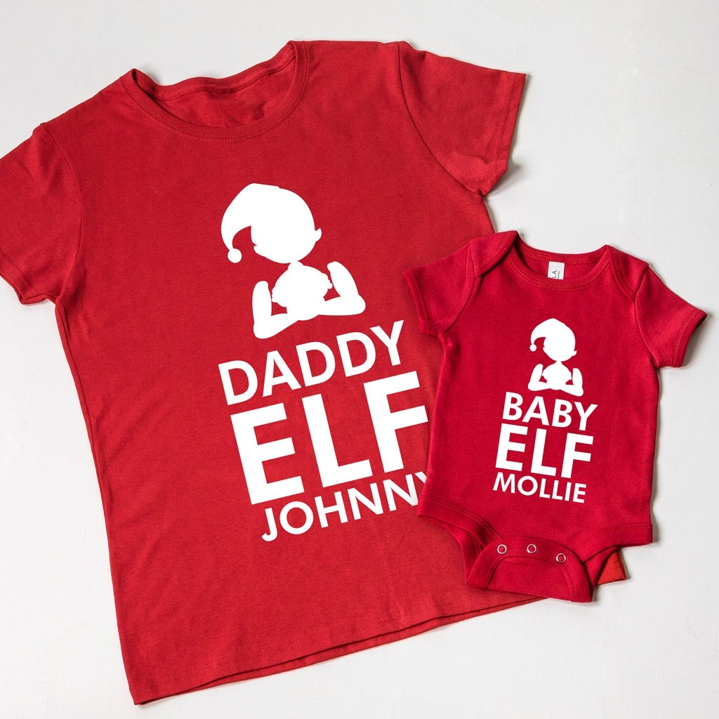 Christmas Family Elf T-shirt