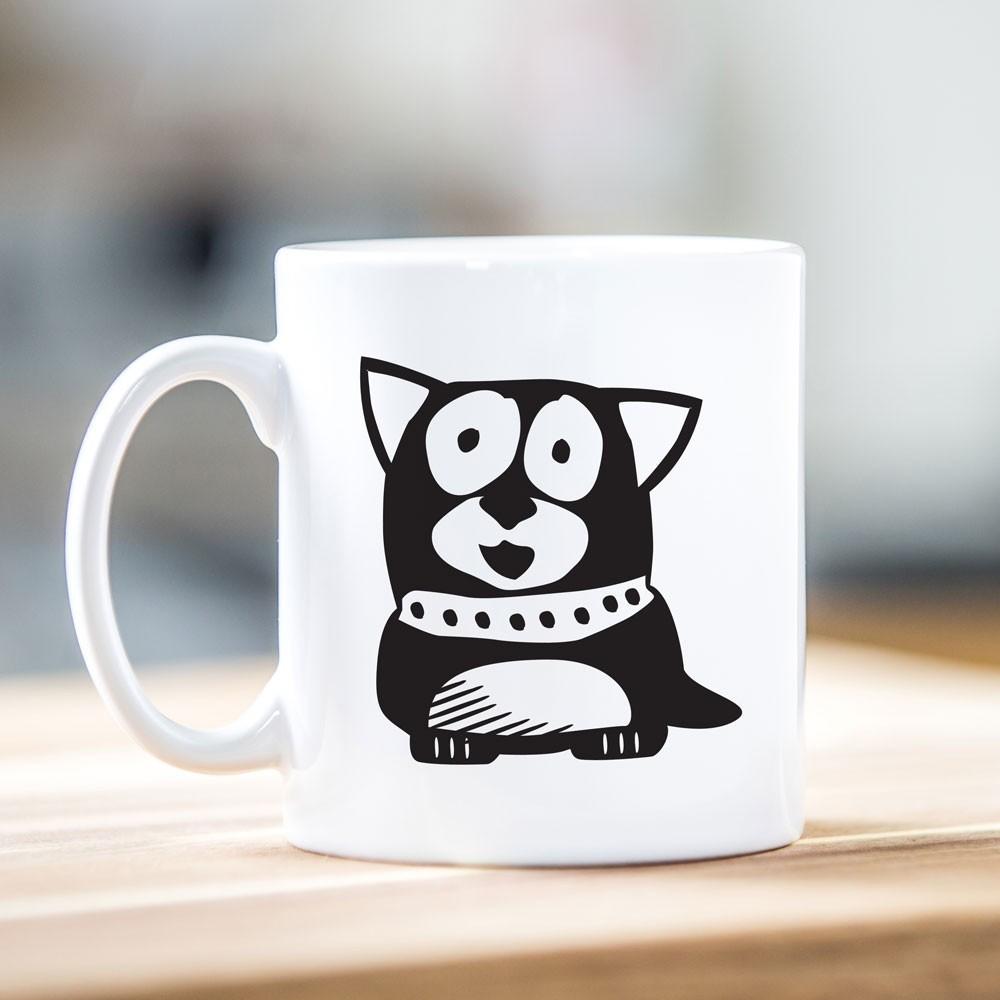 Dog Motif Mug