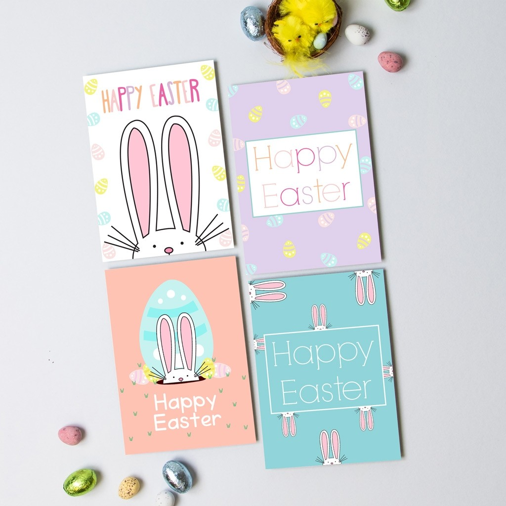 Easter A6 Postcard Pack 2018 with Envelopes