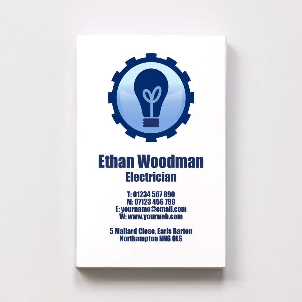 Electrician Templated Business Card 1