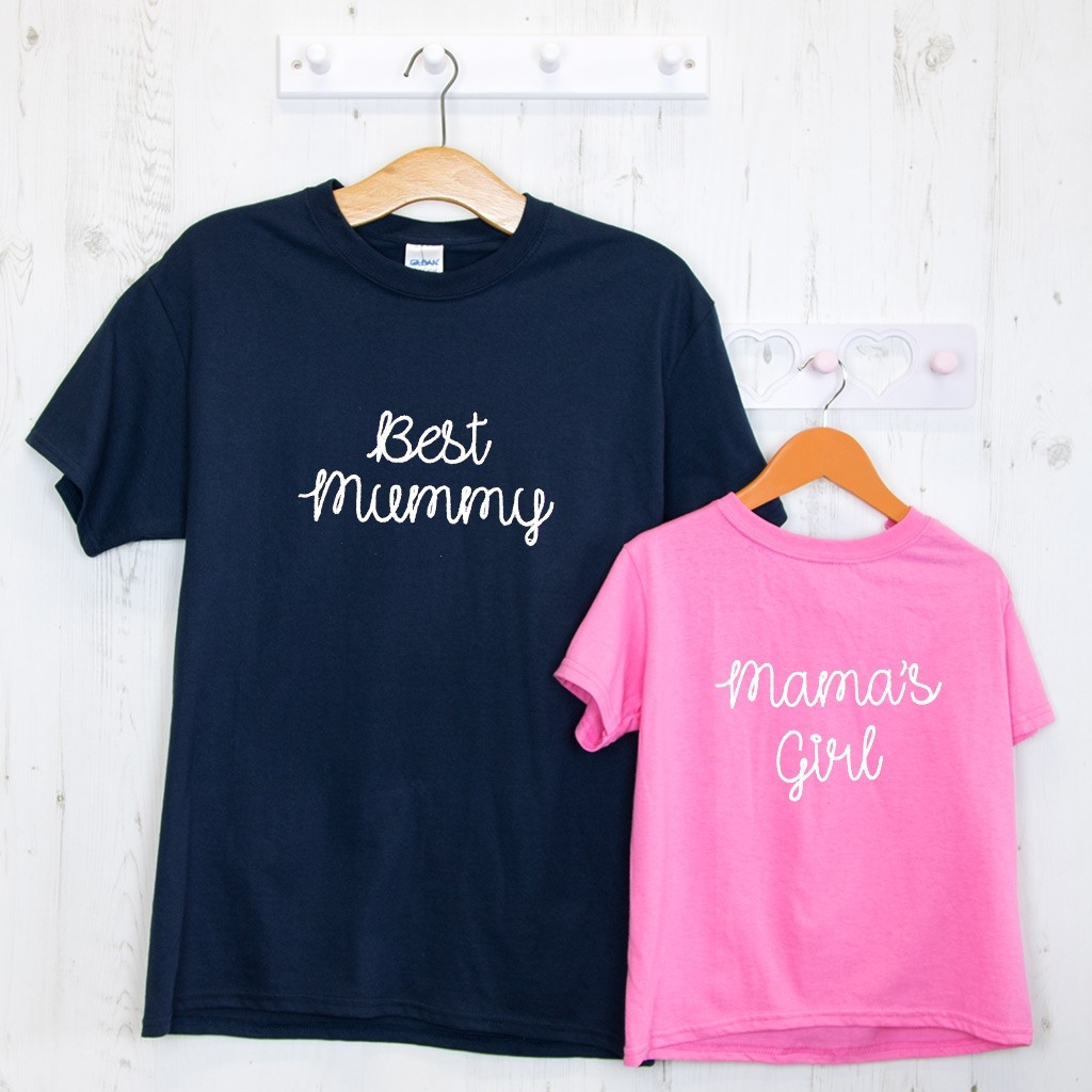Embroidered Mother's Day T-Shirt