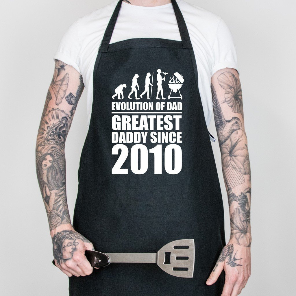 Evolution of Dad Apron