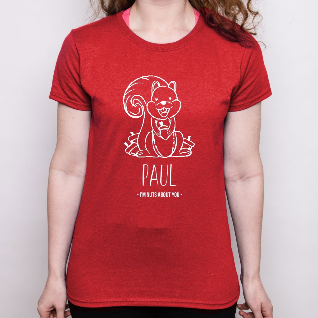 Valentine's Day T Shirt - Squirrel