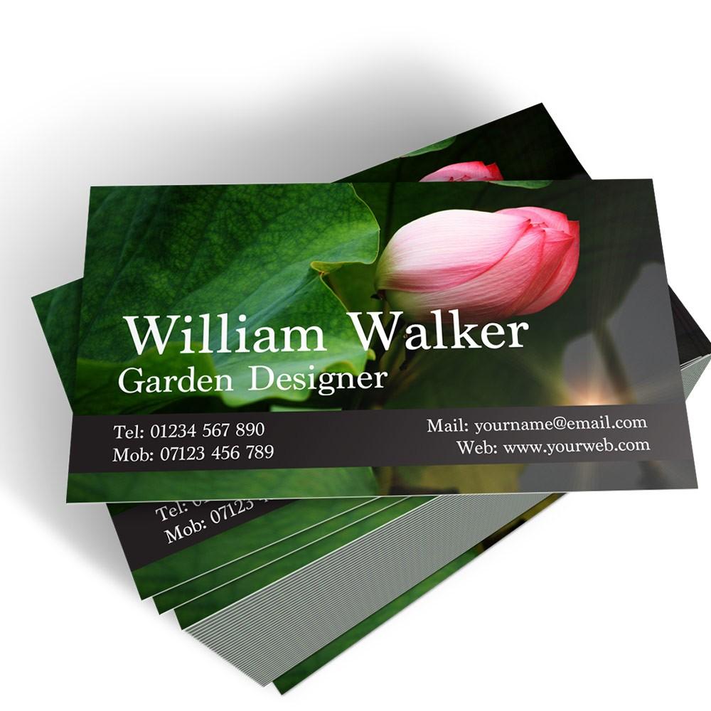 Templated Business Card Florist/Gardener 1