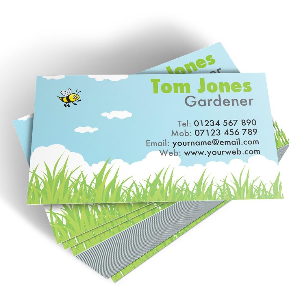 Templated Business Card Florist/Gardener 3
