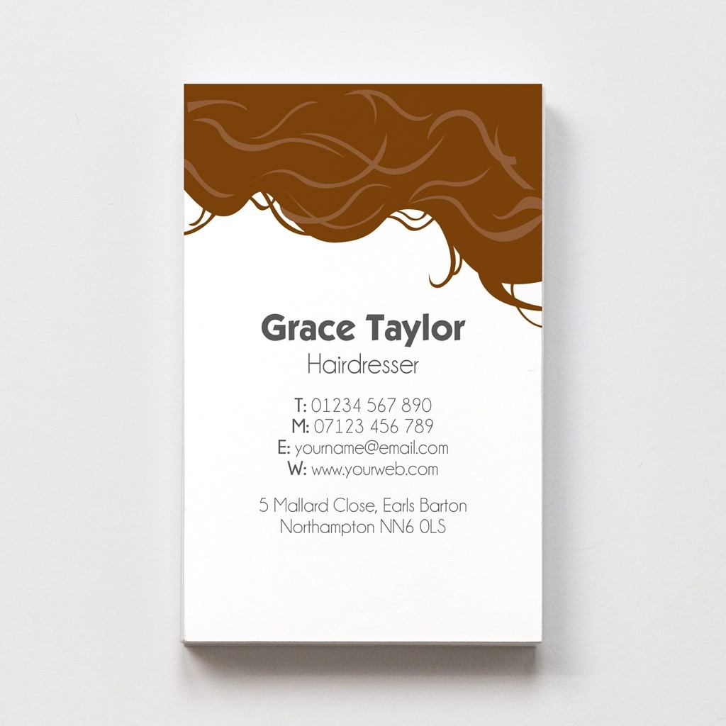 Hairdresser Templated Business Card 3