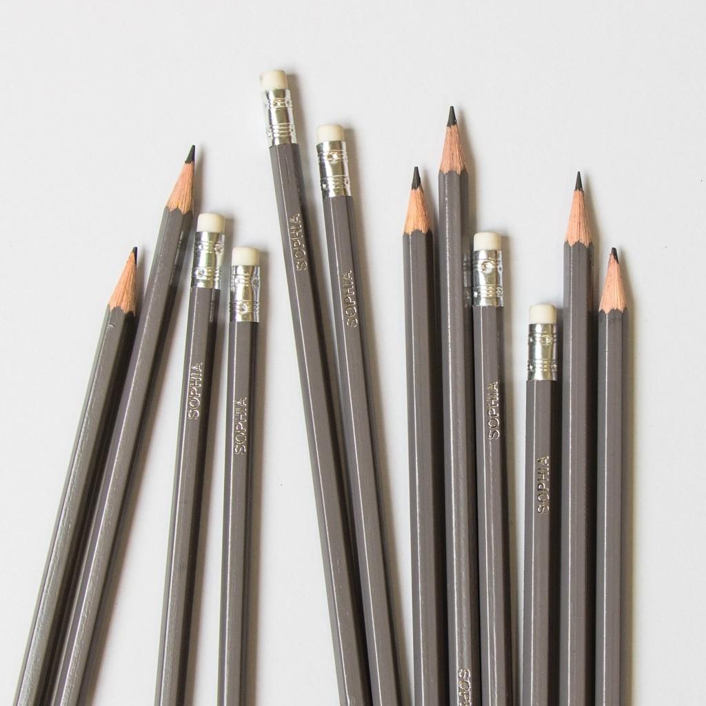 Premium Grey Pencils
