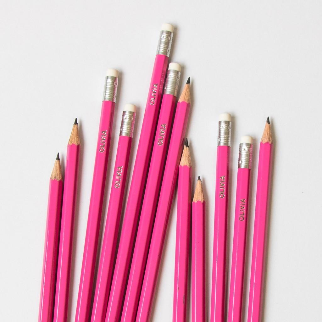 Premium Pink Pencils