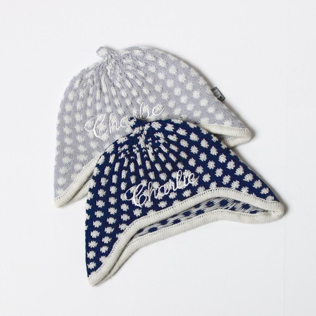 Little Nitwits - Luxury Merino Wool Spotty Hat