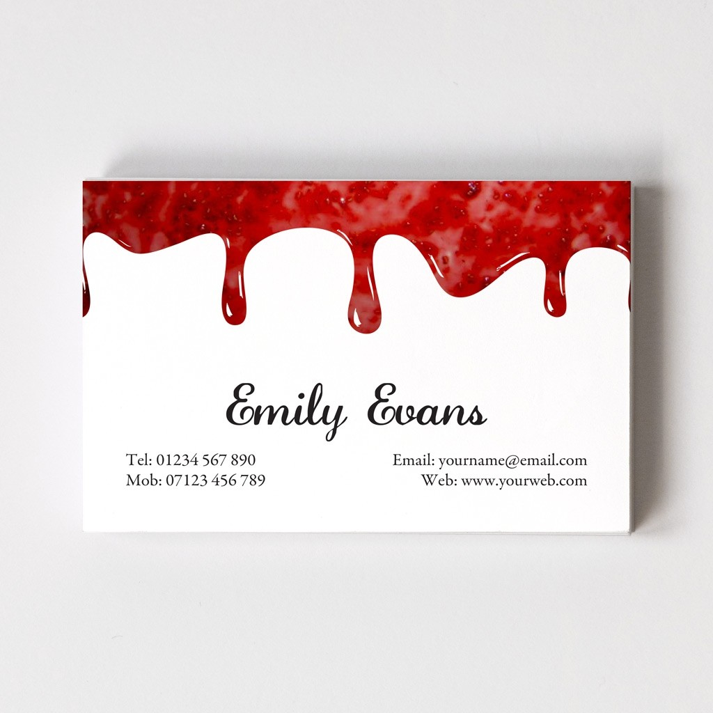 Templated Business Card Jam Maker 1