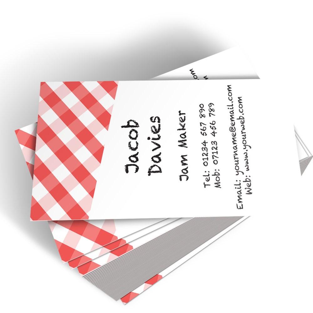 Templated Business Card Jam Maker 2
