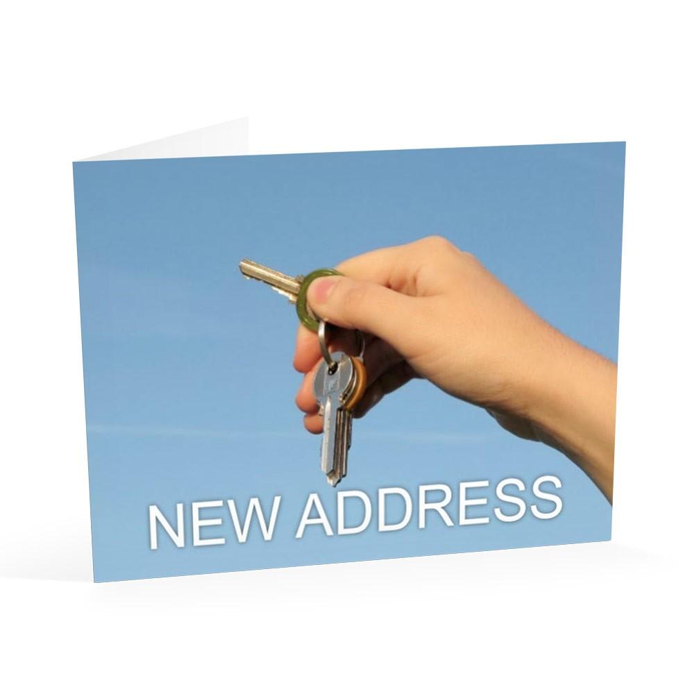 Keys in Hand - Change of Address Cards