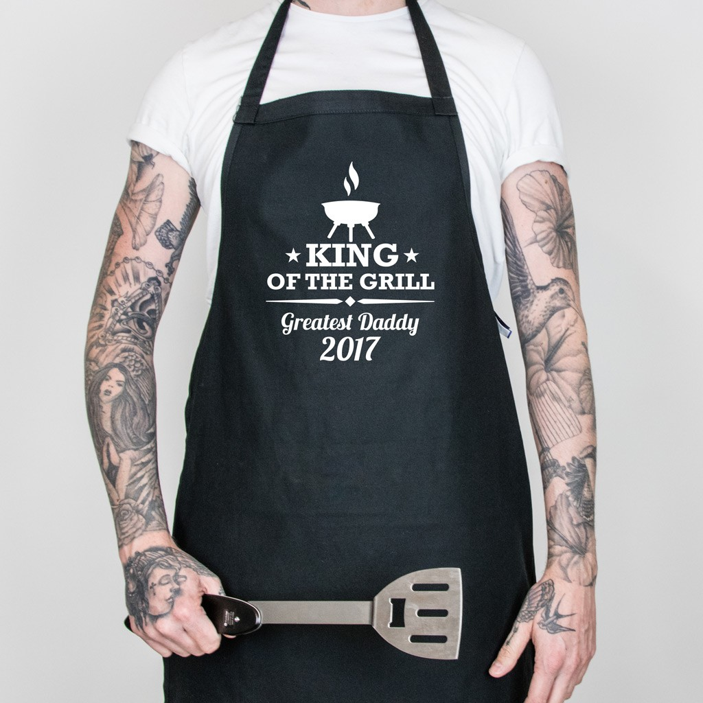 King of the Grill Apron - Black