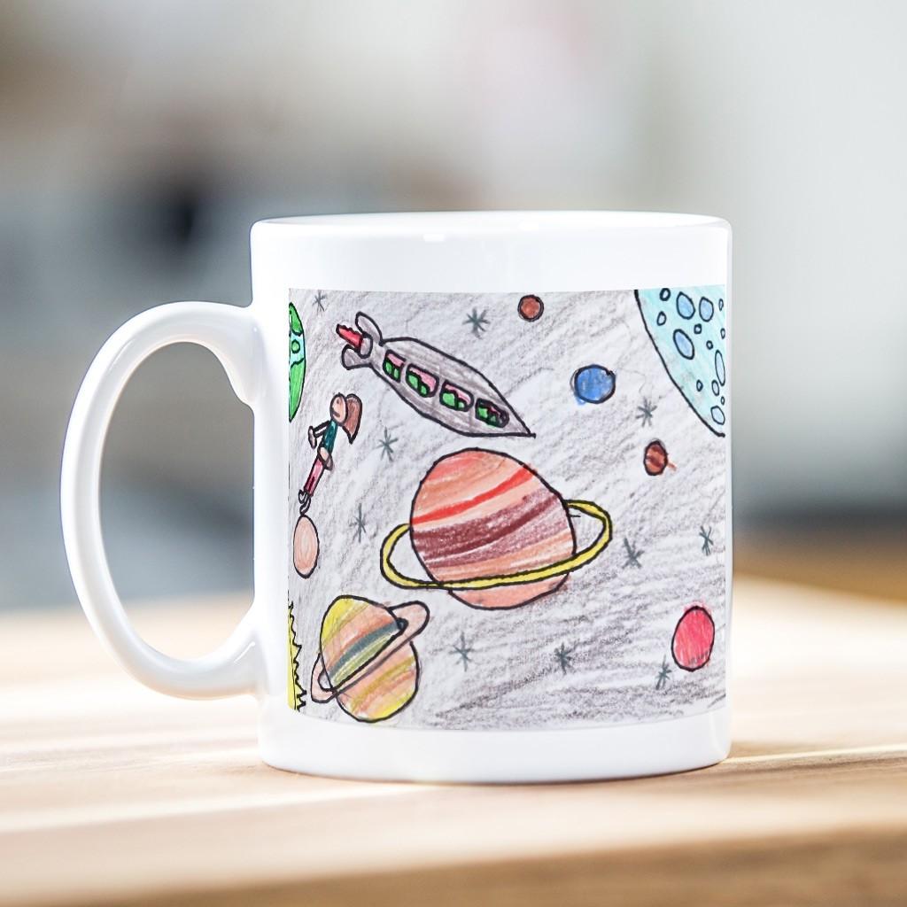 Child's Artwork Mug Panoramic