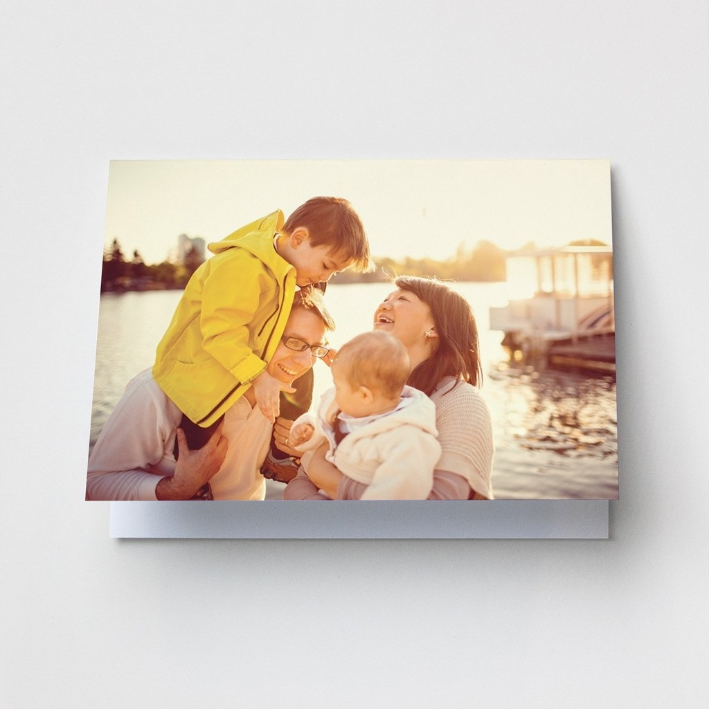 Layout 1 - Photo Upload Card - Landscape