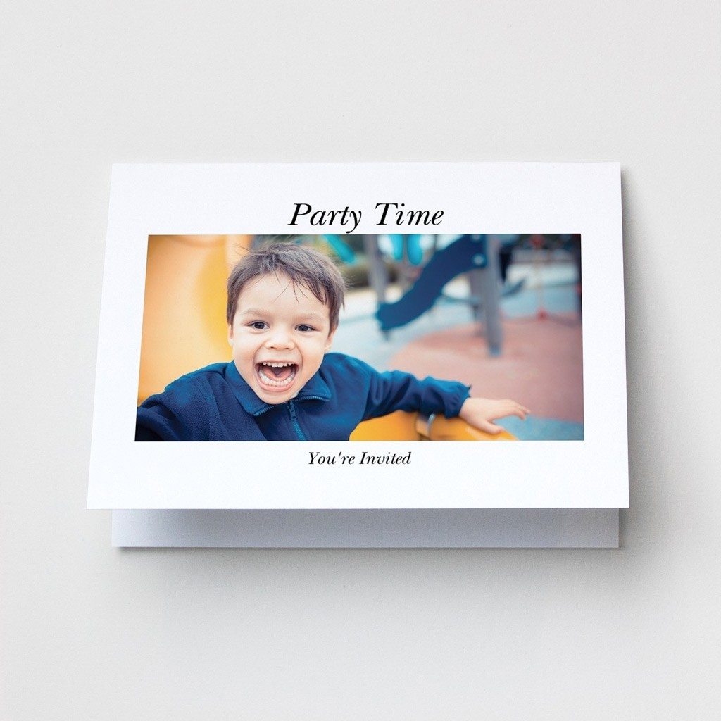 Layout 2 - Photo Upload Card - Landscape