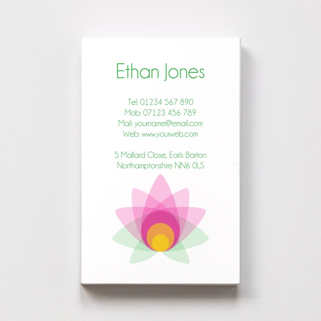 Yoga/Fitness Templated Business Card 1