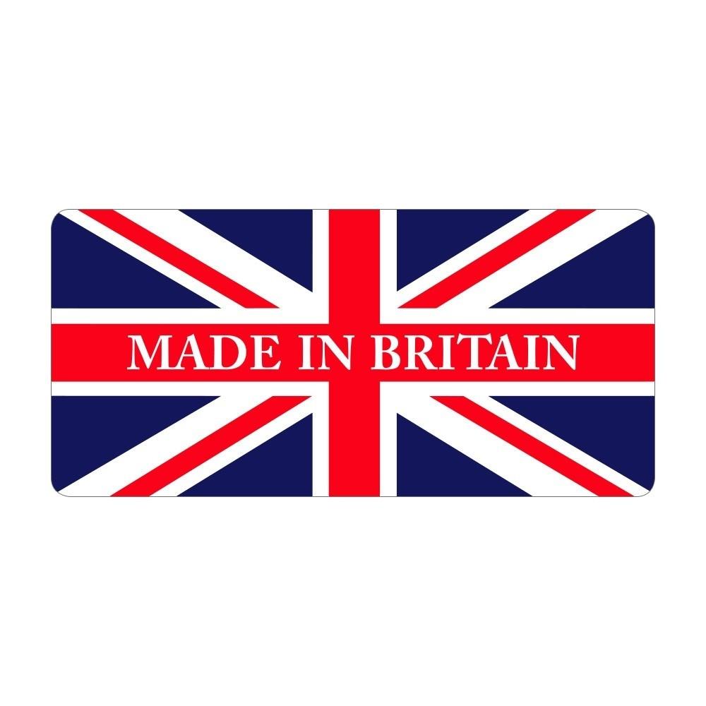 Made in Britain - Pre Designed Labels