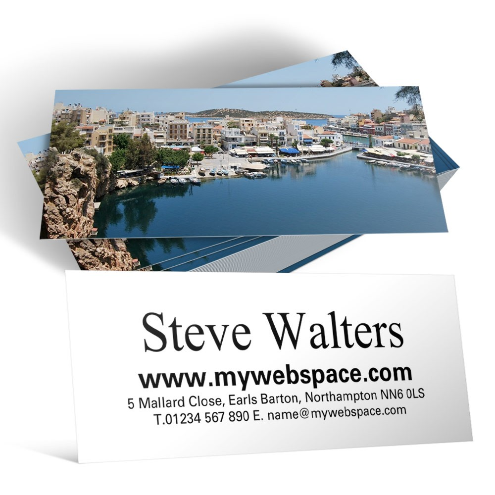 Mini Business Cards Design Your Own - Able Labels