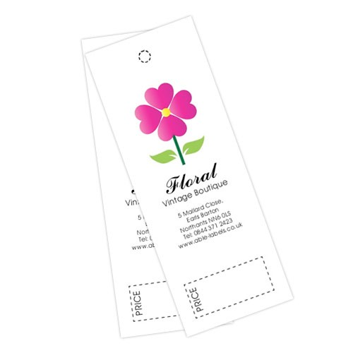 Flower Swing Tag
