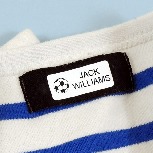 Stick On Name Labels with Motif