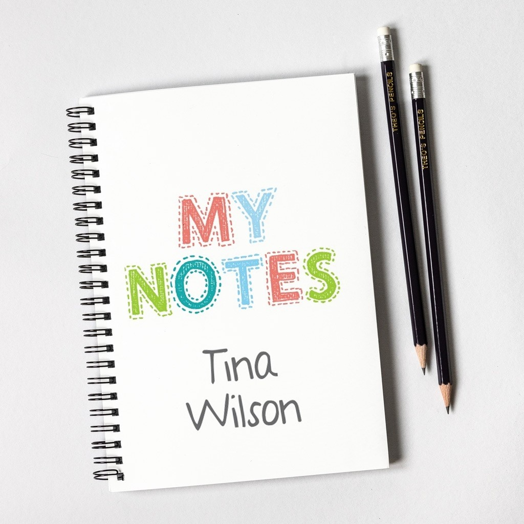 My Notes Notebook Gift Set