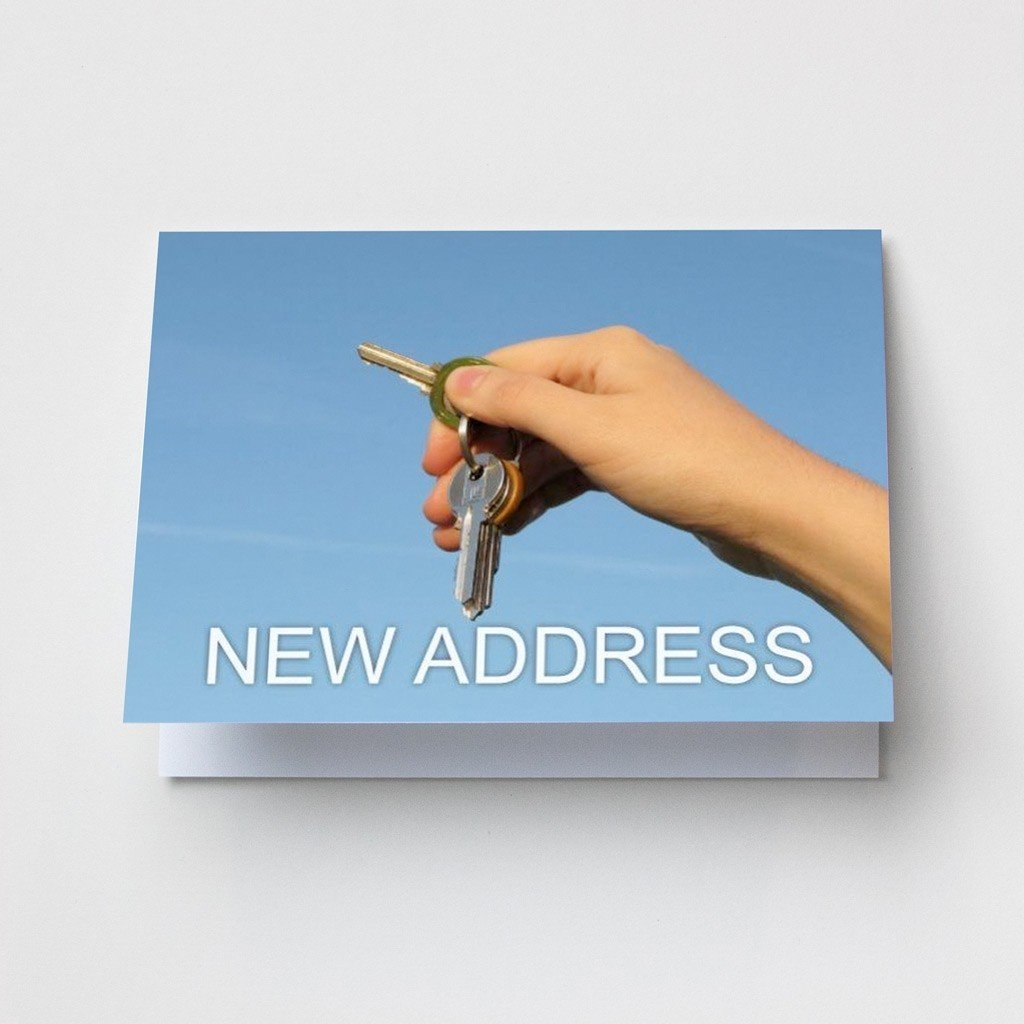 Keys in Hand - Change of Address Cards