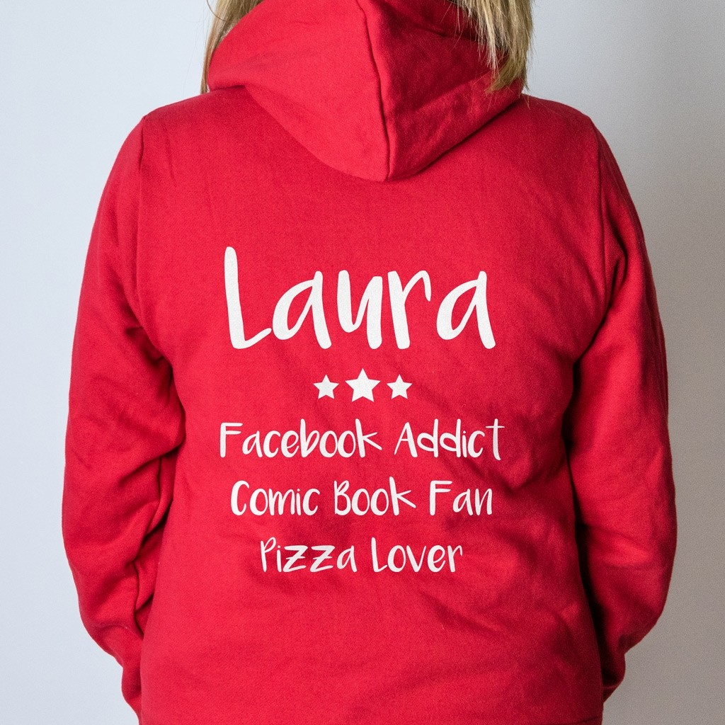 Personalised Onesie - Name & List Back