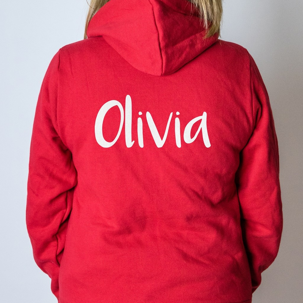 Personalised Onesie - Name Back