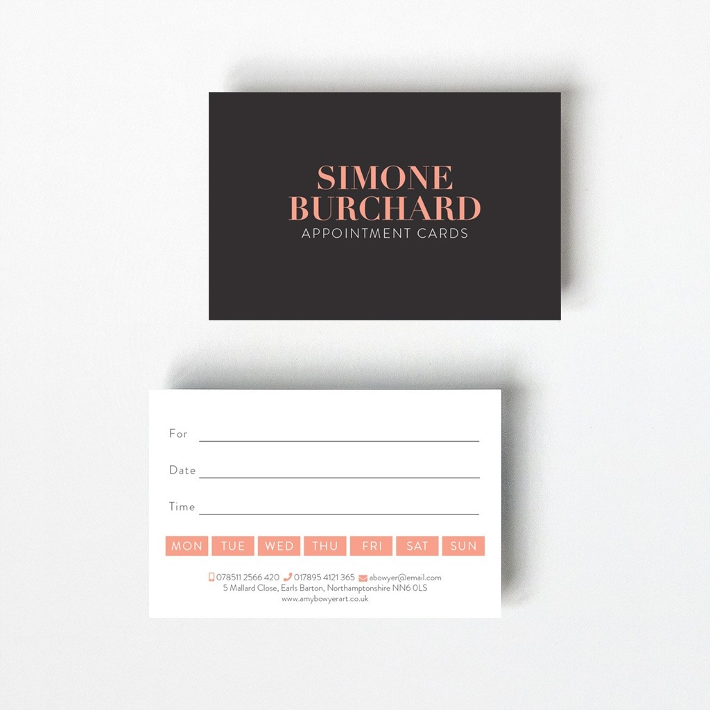 Opaque Appointment Card