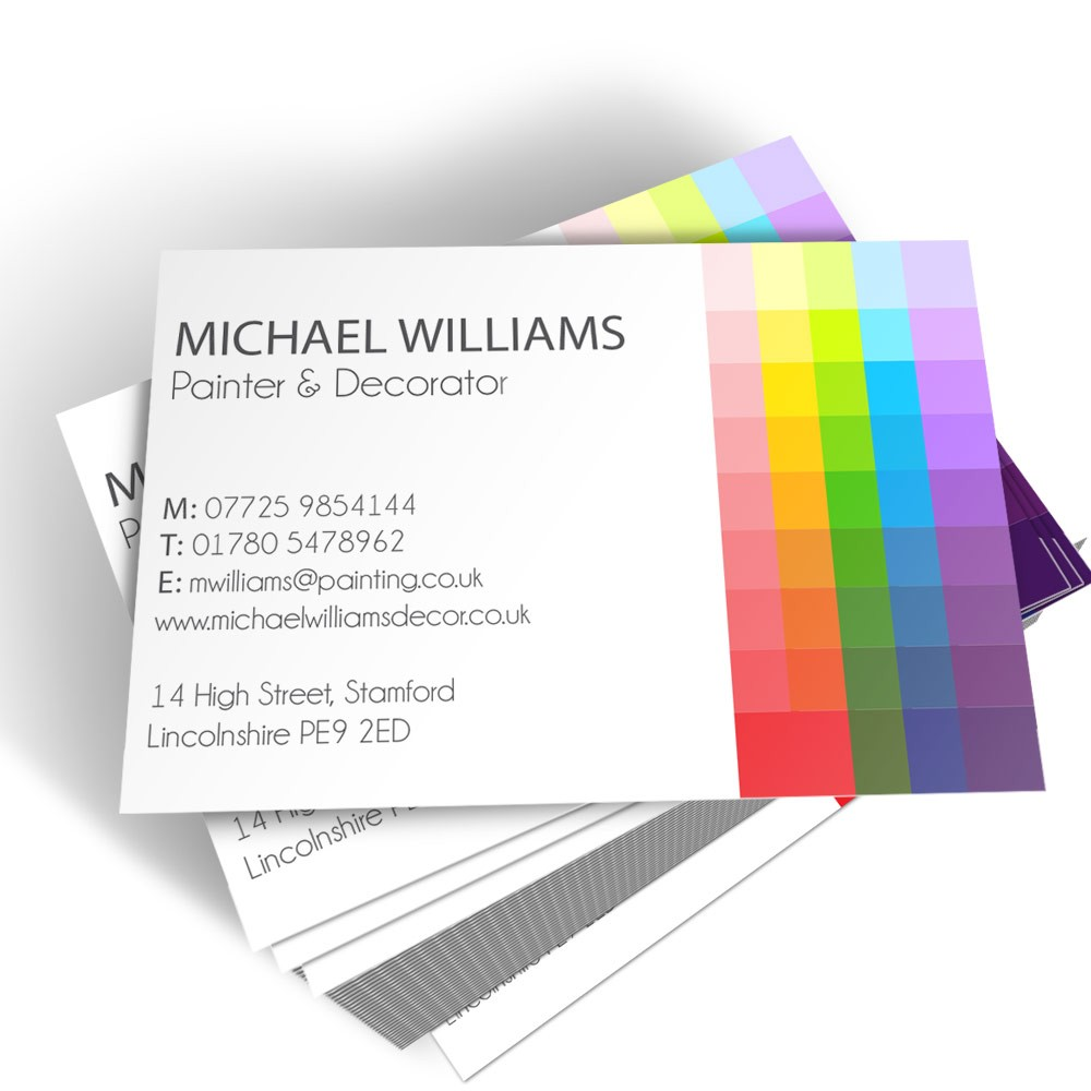 Templated Business Card Painter & Decorator 2